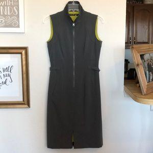 Marc New York Gray Dress with Zipper